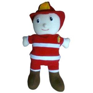 boneka pemadam - Aneka Boneka Tangan Profesi - Profesi Pemadam Kebakaran