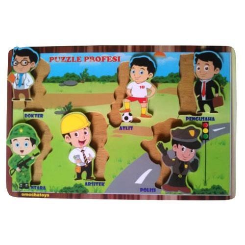 puzzle profesi - [Best Seller] Aneka Puzzle Dapat 3 Pcs