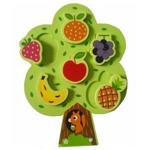 Puzzle Pohon dan Buah - Puzzle Pohon dan Aneka Buah