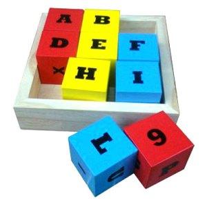 balok 9 angka dan huruf - Balok 9 Angka dan Huruf