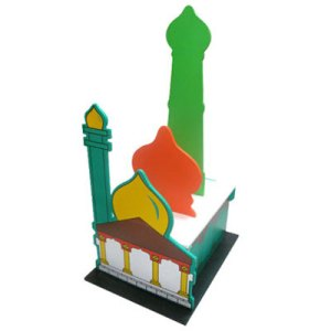 maket masjid - APE Masjid 3D Bongkar Pasang