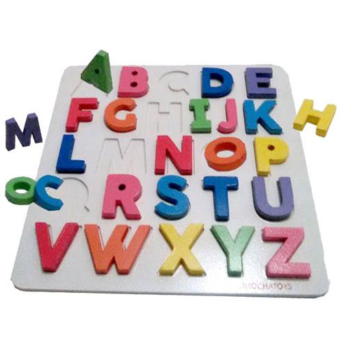 alphabet cat - Puzzle Futoi Huruf Besar