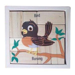 Puzzle Burung Balok - Promo Tahun Baru Islam 1438H