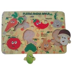 puzzle sayur - Puzzle Aneka Sayur - Sayuran