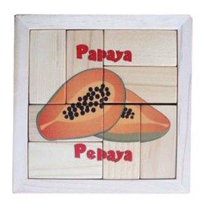puzzle pepaya balok - Puzzle Pepaya - Balok