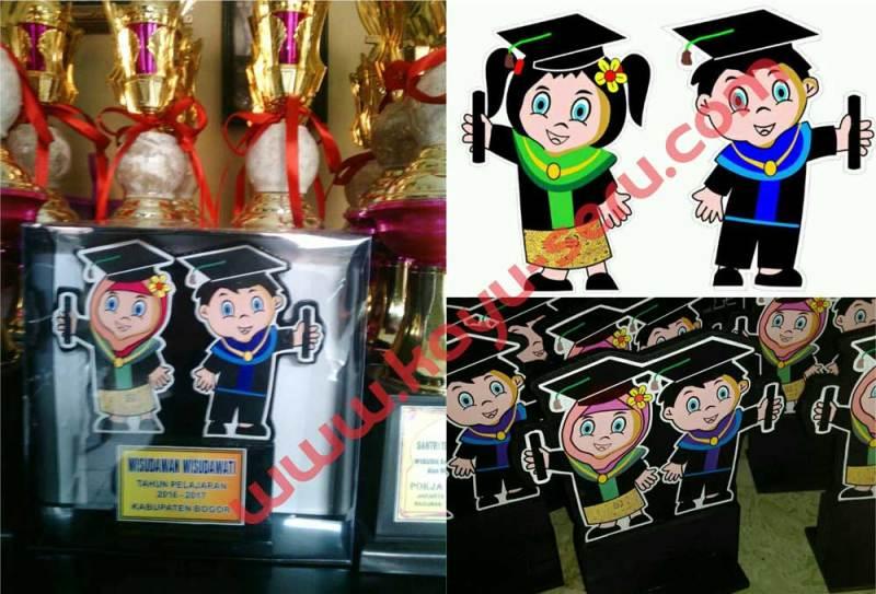 Plakat Depan - Plakat Wisuda PAUD / TK Pokja Jakarta Selatan