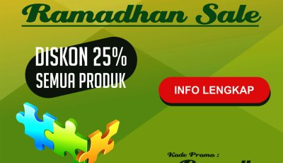 ramadhan sale - Ramadhan Sale Diskon 25% Semua Produk