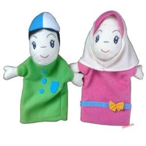 Boneka Tangan Muslim - Boneka Tangan Anak Muslim