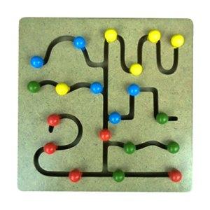 Maze Tombol - Plakat Untuk Wisuda Dari Kayu Untuk TK Dhian