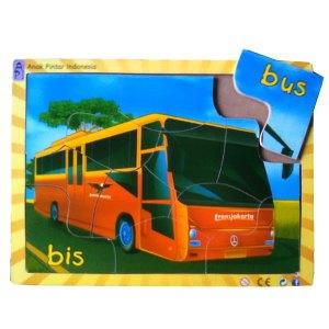 BUS TRANSJAKARTA - Puzzle Bus Transjakarta