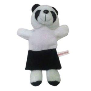 boneka tangan panda - Boneka Tangan Hewan Panda