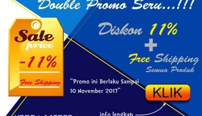 promo awal november - Double Promo, Nikmati Diskon Spesial & Free Ongkir