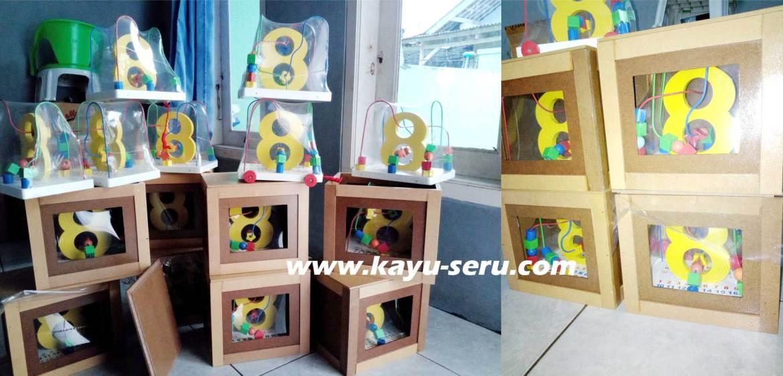 pembuat mainan kayu - Cari Pembuat Mainan Kayu, Mau Bikin Mainan Custom Wiregame Angka Delapan