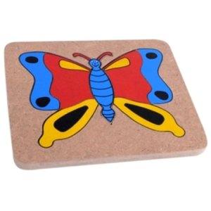 puzzle metamorfosis kupu kupu - Cara Asik Mengajar Anak Mengenal Warna