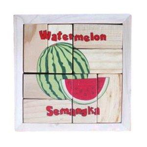 puzzle semangka balok - Puzzle Buah Semangka - Balok