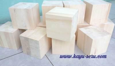 kubus 10 cm - Manfaatkan Kayu Sisa, Membuat Kubus 10cm Kayu Pinus