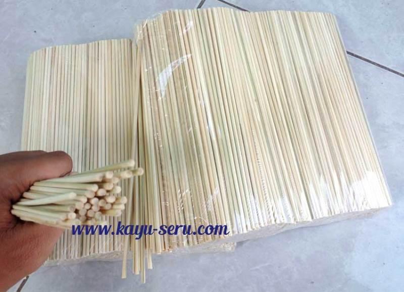 dowl 2mm - Dowel 2mm Dari Bambu, Putih, Halus dan Kuat
