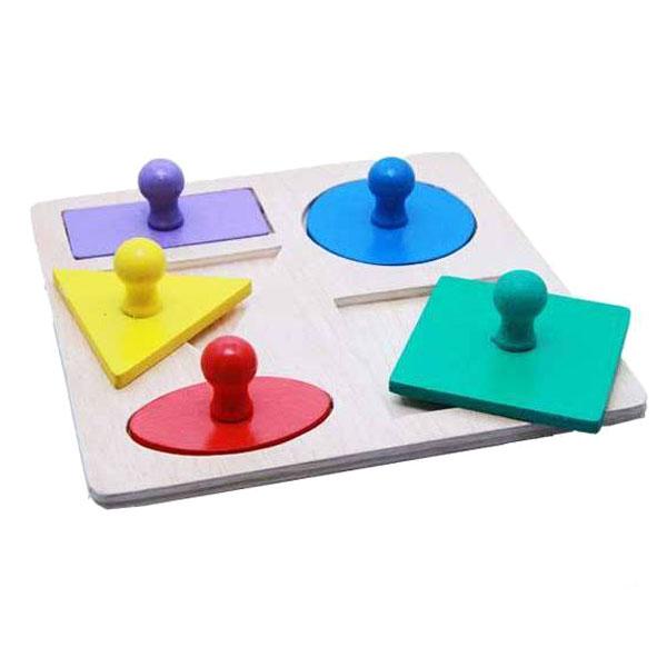 puzzle geometri knop - Puzzle Geometri Knop
