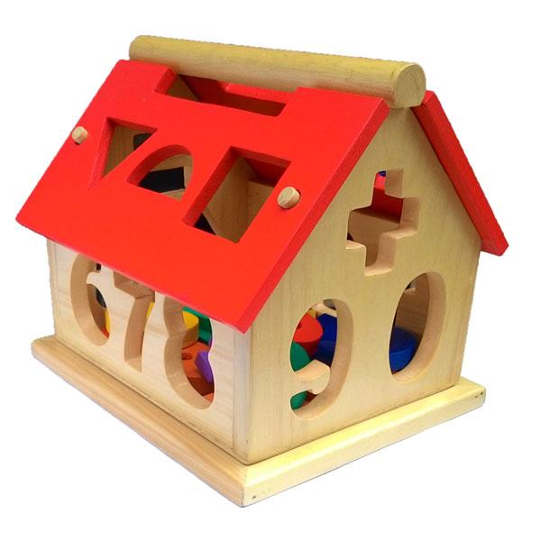 rumah angka kayu - Rumah Angka Kayu Natural