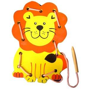 papan jahit karakter singa - Papan Jahit Singa 3D