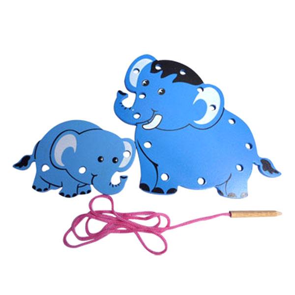 menjahit gajah 3D - Menjahit Gajah 3D