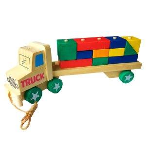 truk kontainer balok - Membuat Plakat Wisuda TK Islam Asshafa