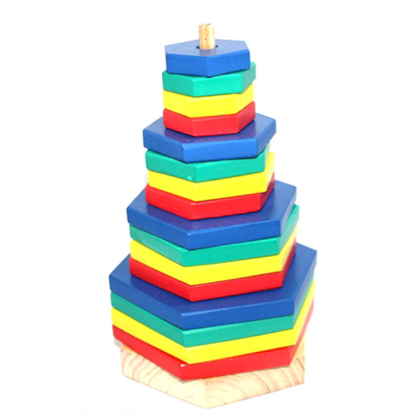 menara pelangi segi enam - Menara Pelangi Segi Enam