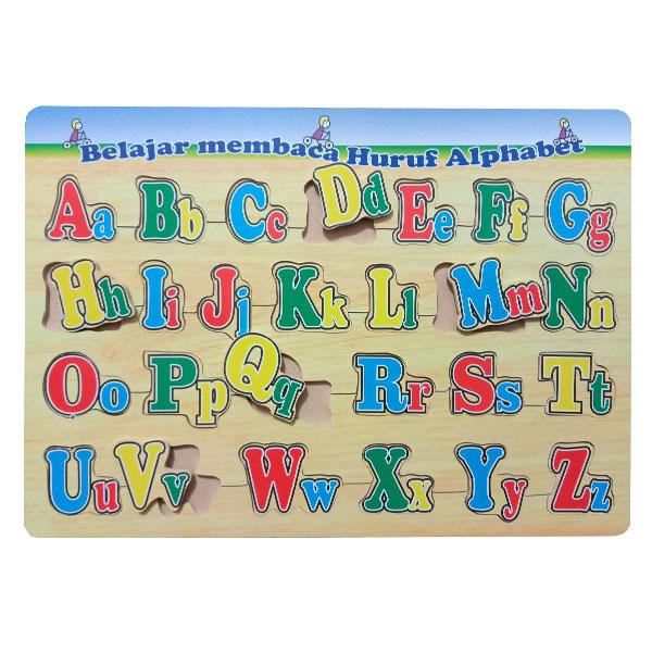 puzzle alfabet besar kecil - Puzzle Huruf Besar - Kecil