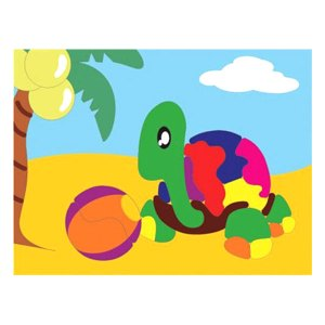 puzzle gambar kura kura - Membuat Boneka Kayu Sederhana Bubut, Pesanan Custom