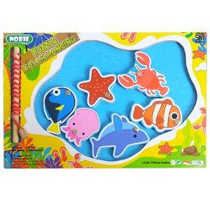 puzzle kolam mancing - Mainan Anak Puzzle Pilihan Diskon 50% Free Ongkir