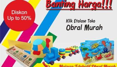 obral mainan - Produk Mainan Edukasi Diobral Diskon Sampai 55%