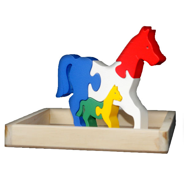 puzzle kuda 3d - Puzzle Kuda 3D
