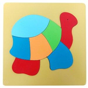 puzzle mdf kura kura cat - Puzzle MDF Kura-kura