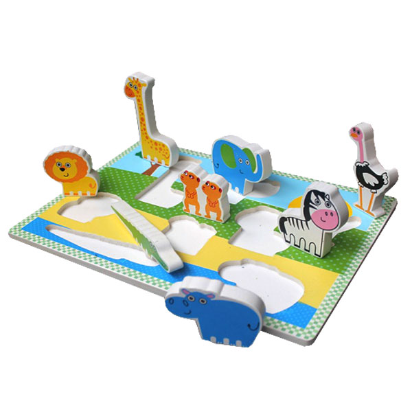 puzzle chunky hewan safari - Puzzle Chunky Hewan Safari