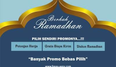 berkah ramadhan - Berkah Ramadhan Pilih Sendiri Promonya, Banyak Pilihan