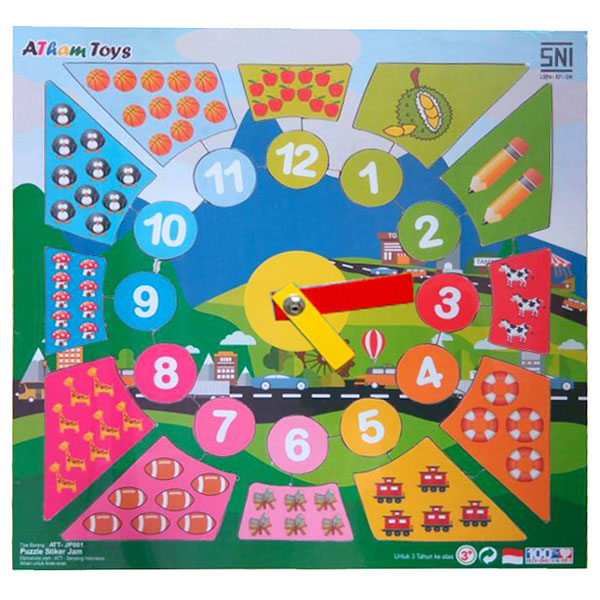 puzzle stiker jam - Puzzle Stiker Jam