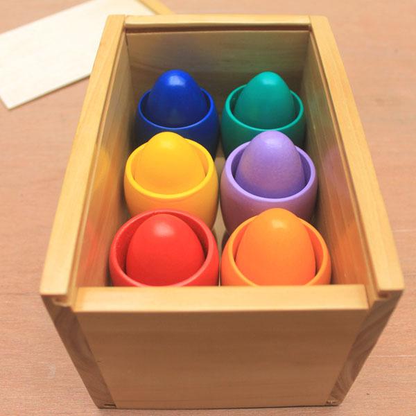 telor warna warni - Telur Warna