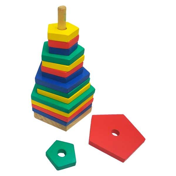 Menara warna segilima - Menara Warna Segilima