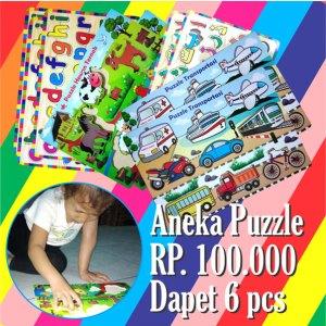 puzzle murah - Paket Puzzle Murah isi 6