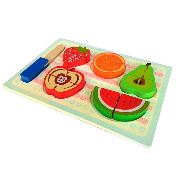 chunky buah potong - Puzzle Buah Potong
