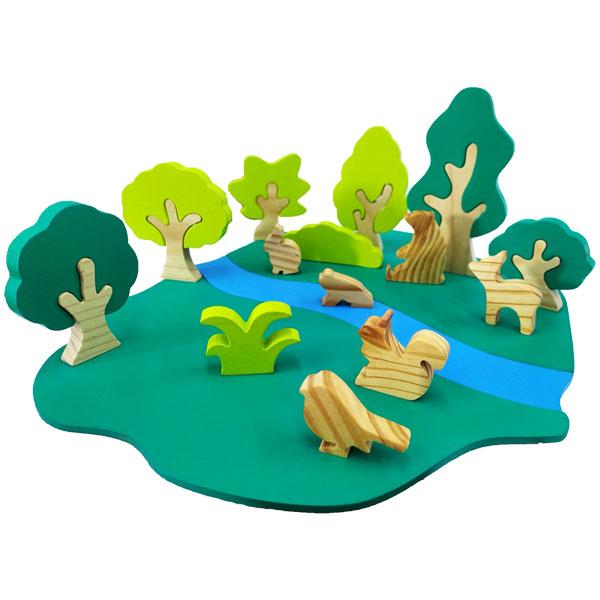diorama hutan - Diorama Hutan
