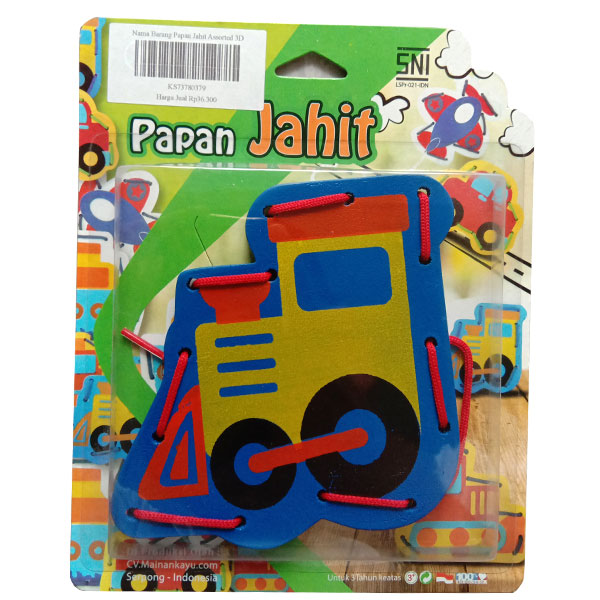 papan jahit lokomotif - Papan Jahit Assorted
