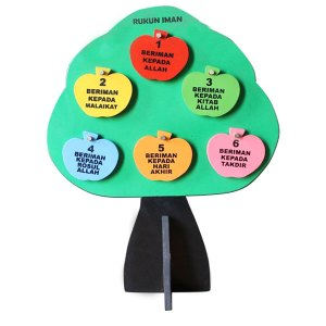 Mainan Pohon Rukun Iman - Mainan Pohon Rukun Iman