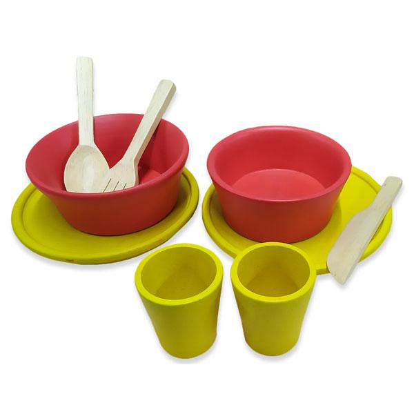 Peralatan makan - Peralatan Makan Kayu
