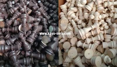 membuat catur kayu bagus - Pesanan Custom Pembuatan Catur Kayu Mahoni