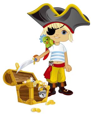 Костюм пирата своим руками для мальчика и девочки