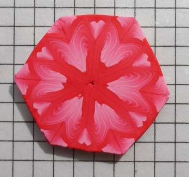 pink polymer clay kaleidoscope cane experiments