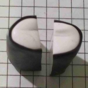 polymer clay alphabet cane tutorial- letter B