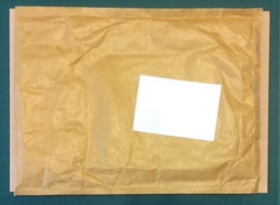laser-cut postage size gauge - envelope too big