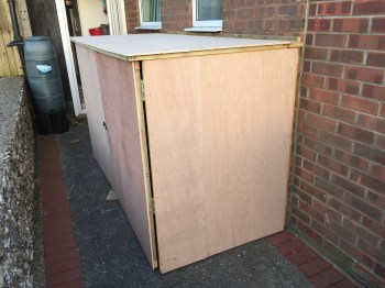 DIY Foldaway / Pop-Up Motorcycle Shed